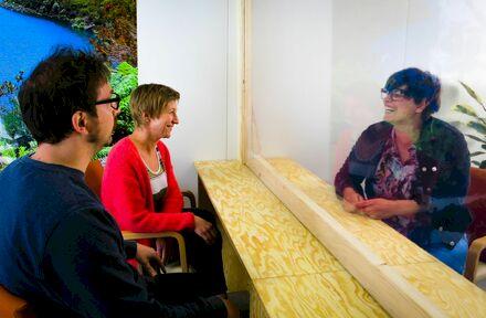 Veldeman ontwikkelt bezoekunits voor Psychiatrisch Centrum Sint-Hiëronymus - Foto 1