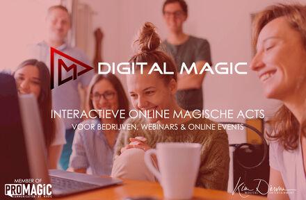 """Interactieve Online Goochel Act """"Through the Looking-Glass"""" - Voel de magie tot bij u thuis! - Foto 1"""