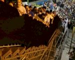 WC Bleachers Lurch Dangerously under Supporters' Weight