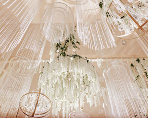 23 Flower Chandelier Ideas to Decorate Your Venue