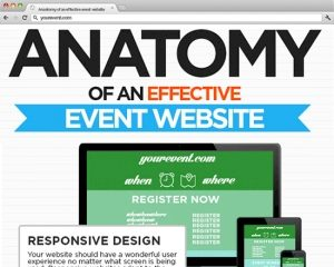 Anatomy of An Effective Event Website