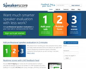 Rate the Speakers at Your Event With Start-Up Speakerscore