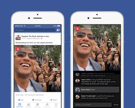 Facebook Launches Live Streaming Feature