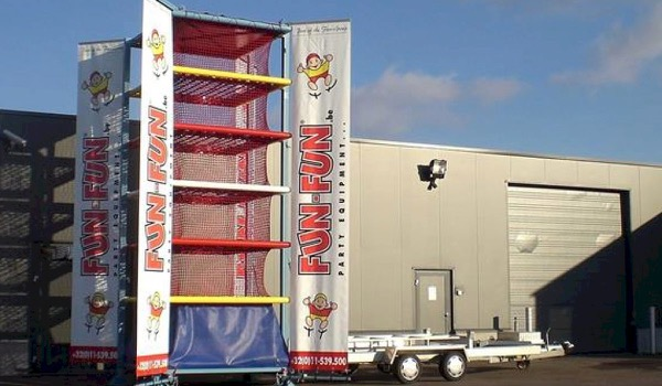Online Auction of Inflatable Slides, Event Trailers, VIP Bus and Sound Equipment