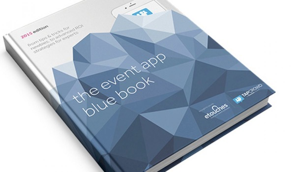 New eBook: the Event App Blue Book for Mobile Apps