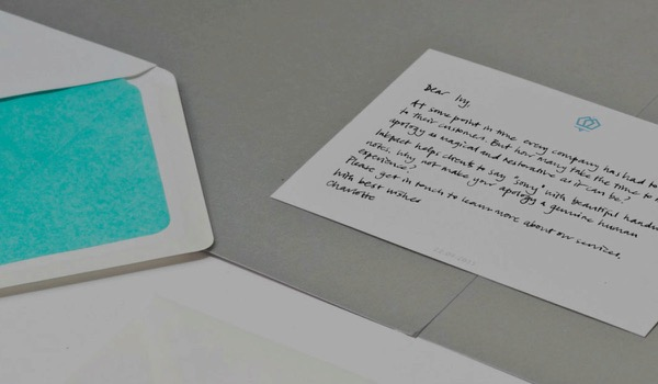 Start-up Inkpact Sends Hand-Written Messages